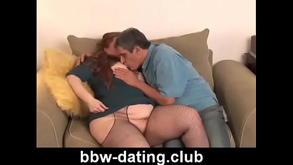 Red head, Bbw blowjob
