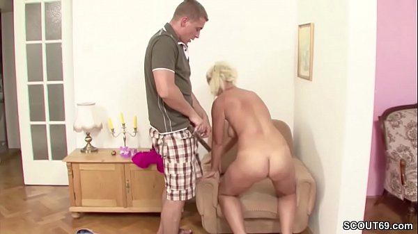German, Step mom, Son and mom, Mom and step son, Hairy mom, Mom seduced