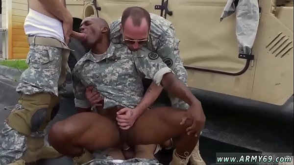 Sucking cock, Gay army