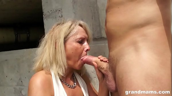 Mature, Blonde mature, Young blonde, Mature milf, Bridge