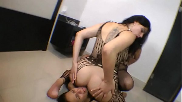 Facesitting, Spit, Humiliation, Domination