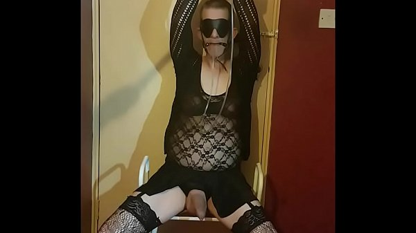 Crossdresser, Tied, Crossdress, Crossdressing, Feed