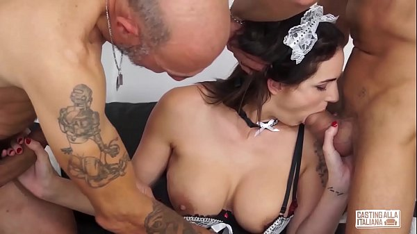Maid, Casting anal, Anal casting