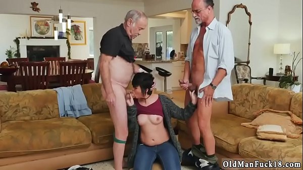 Spanking, Old man, Fat man, Fat girl