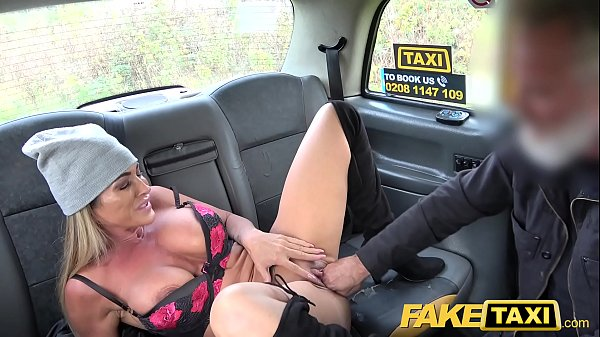 Fake taxi, Fake, Ball licking, Big balls, Taxi mature, Milf busty