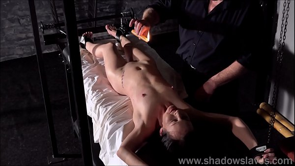 Bdsm, Tied, Table, Dungeon, Waxing, Master slave