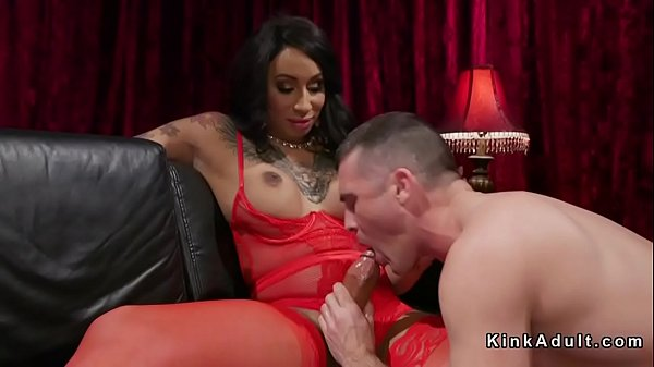 Red fuck, Trannies, Lingerie anal