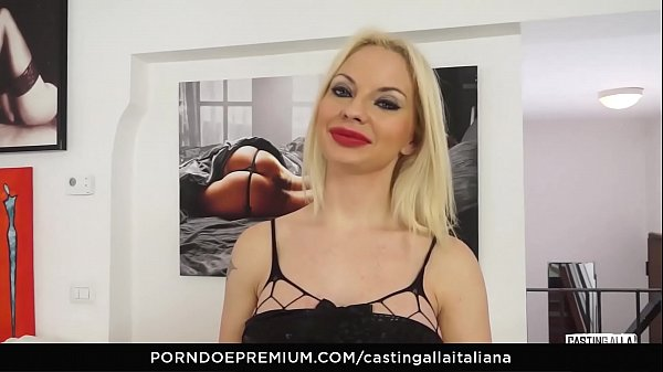 Italian, Casting anal, Anal casting, Audition anal