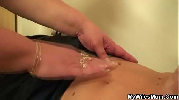 In law, Son in law, Swallowing, Son cock, Mommy son