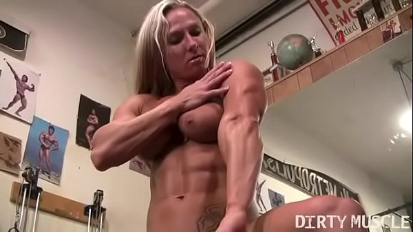 Clit, Big clit, Bodybuilder