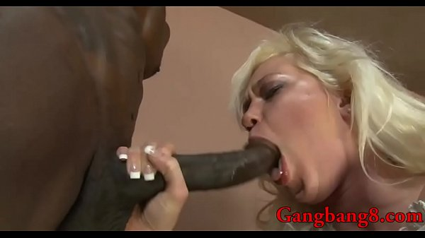 Interracial anal, Busty blond, Anal interracial, Anal gangbang