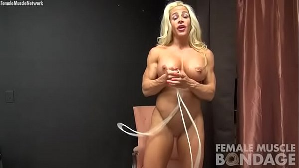 Tit, Rope, Play, Bodybuilder