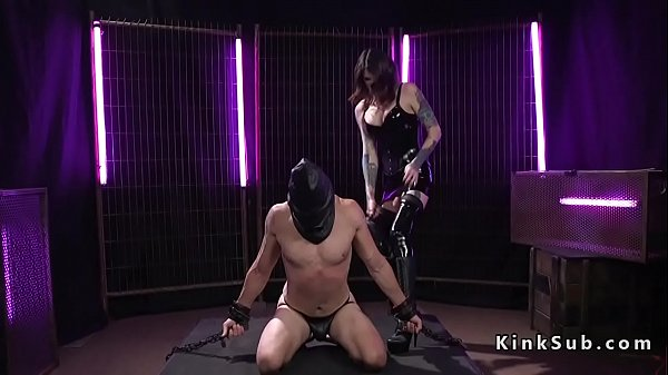 Latex, Whipped, Whip, Whipping, Black tranny