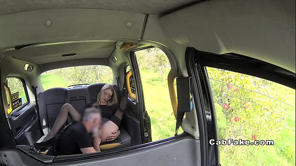 Fake taxi, Fake, In taxi, Taxi fake, Stockings footjob