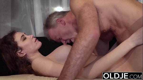 Natural, Grandpa, Young pussy, Young porn, Nature