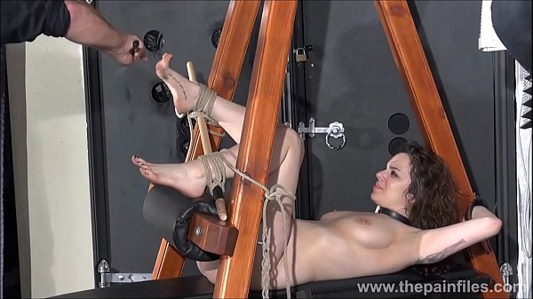 Bondage, Submissive, Foot fetish, Amateur orgasm
