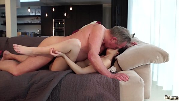 Old man, Cum in mouth, Pussy, Young and old, Cum in pussy, Cum swallowing